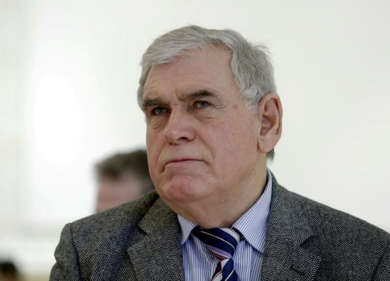 Prominent lawyer and once one of the strongest opponents to late Serbian strongman Slobodan Milosevic, Azem Vllasi, pictured in 2014, has been shot outside his home