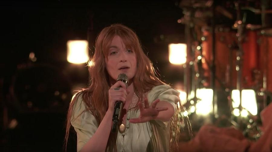 "Florence and the Machine performed their new song ""Hunger"" on the season finale of 'The Voice' Tuesday night."