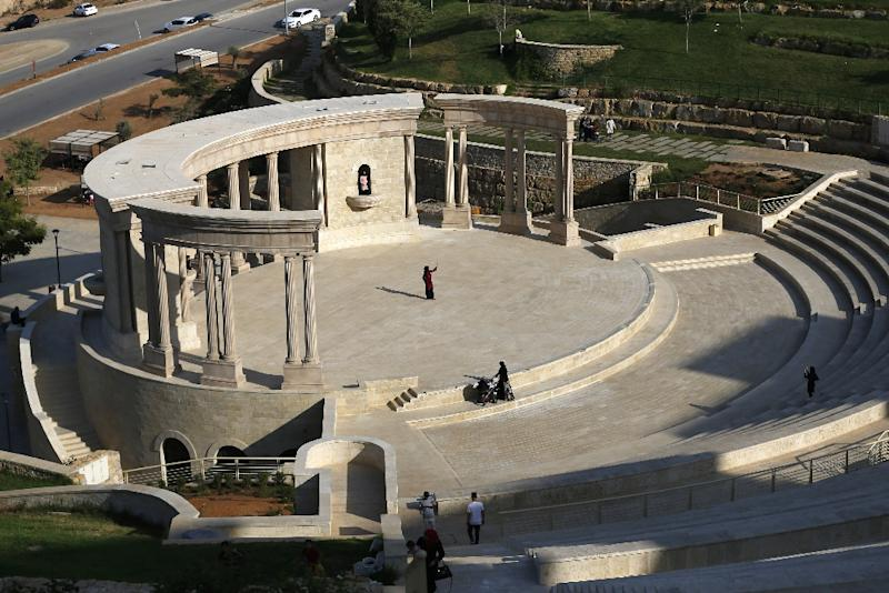 The high-end facilities, including a 15,000-seater ampitheater, have sparked criticism that it caters only for the elite and is out of reach to many (AFP Photo/ABBAS MOMANI)