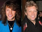 Jon Bon Jovi has also had a thirty year musical career and luckily for him, he doesn't actually look like someone who's been in the biz for so long! Give the guy on the left a haircut, dye it blond and you've got the guy on the right! He really doesn't look like someone who is 50 years old and apparently it's all natural! Jon has said that he doesn't have time for vanity and therefore wouldn't be getting Botox or plastic surgery.
