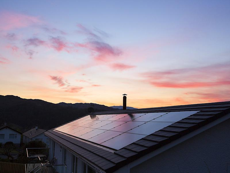The number of people putting solar panels on their homes is now at a six-year low: Rex