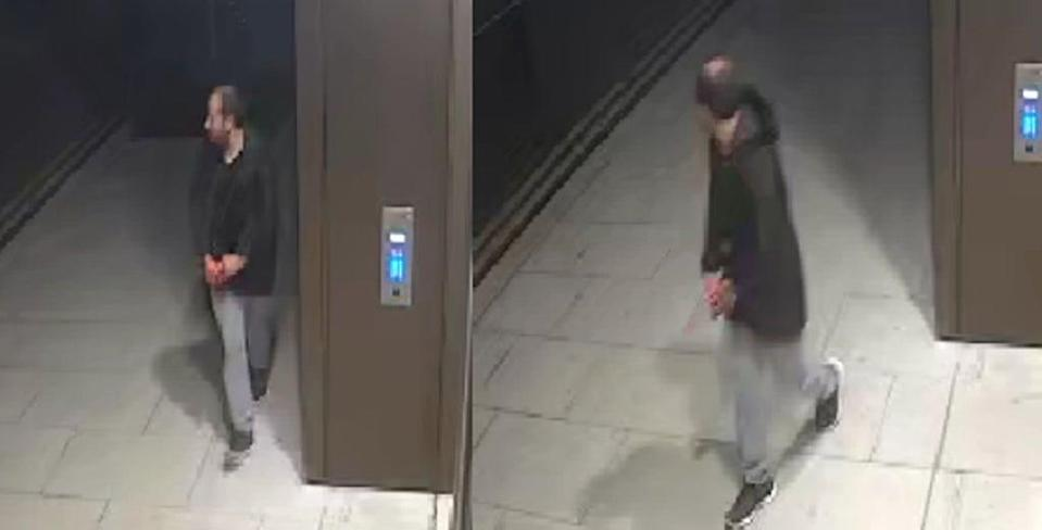 Officers said they are wishing to speak to this man. (Metropolitan Police/PA) (PA Media)