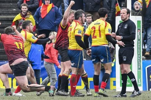 <p>Spain demand rematch in rugby World Cup qualifying controversy</p>