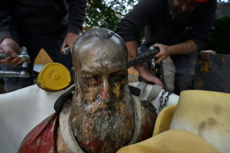 Several statues of Leopold II have been vandalised
