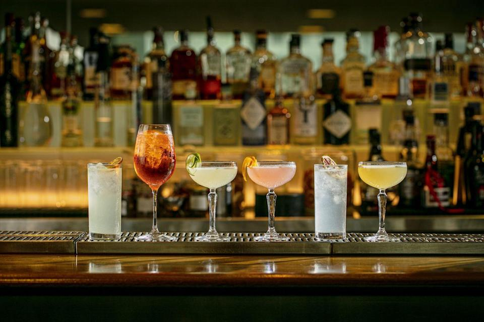 """<p><strong>Happy hour deal:</strong></p><p>Until the end of August 2021, Plateau is running its 'Six @ 6' hour which offers cocktails (including Aperol Spritz, Cosmopolitans and Daiquiris) for £6 from the hours of 12-6pm Tuesday to Friday.</p><p>Find out more <a href=""""https://www.plateau-restaurant.co.uk/event/six-6-cocktails/"""" rel=""""nofollow noopener"""" target=""""_blank"""" data-ylk=""""slk:here"""" class=""""link rapid-noclick-resp"""">here</a>.</p>"""