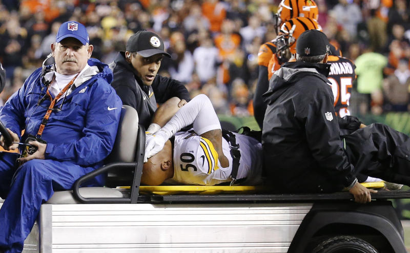 Steelers LB Shazier undergoes spinal surgery