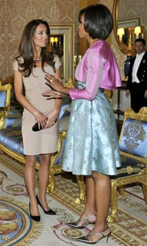 Meeting the new Duchess
