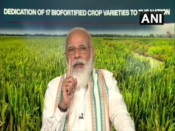 Prime Minister Narendra Modi during an event to mark the 75th anniversary of India's long-standing relationship with FAO on Friday. (Photo/ANI)