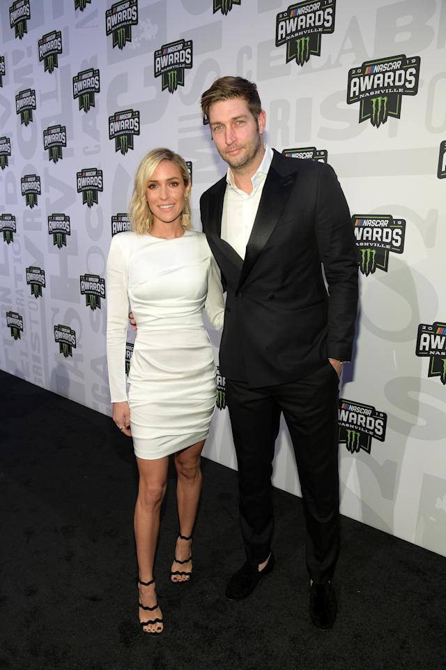 NASHVILLE, TENNESSEE - DECEMBER 05: Jay Cutler and Kristin Cavallari attend the Monster Energy NASCAR Cup Series Awards at Music City Center on December 05, 2019 in Nashville, Tennessee. (Photo by Jason Kempin/Getty Images)