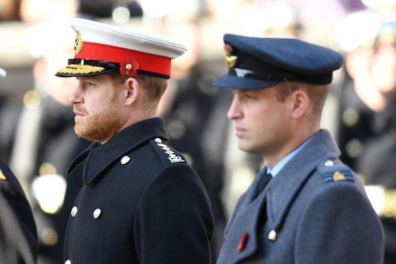 Prince Harry and Prince William | Karwai Tang/WireImage