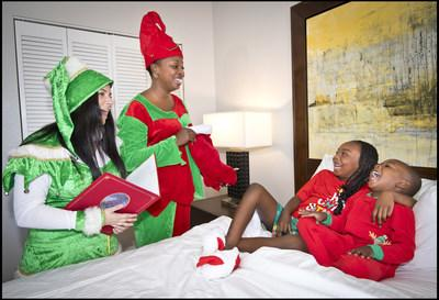 "Families can celebrate the season at the Wyndham Ocean Walk in Daytona Beach, Fla. with a variety of holiday activities, including an ""Elf Tuck-in,"" where two Wyndham elves deliver handmade stockings and personalized ornaments right to the suites to get the little ones ready for bed. Additional activities include an ""Elf on the Shelf"" scavenger hunt and photo opportunities with Santa. Travelers can save up to 30 percent off stays this winter at this and other resorts with ExtraHolidays.com."
