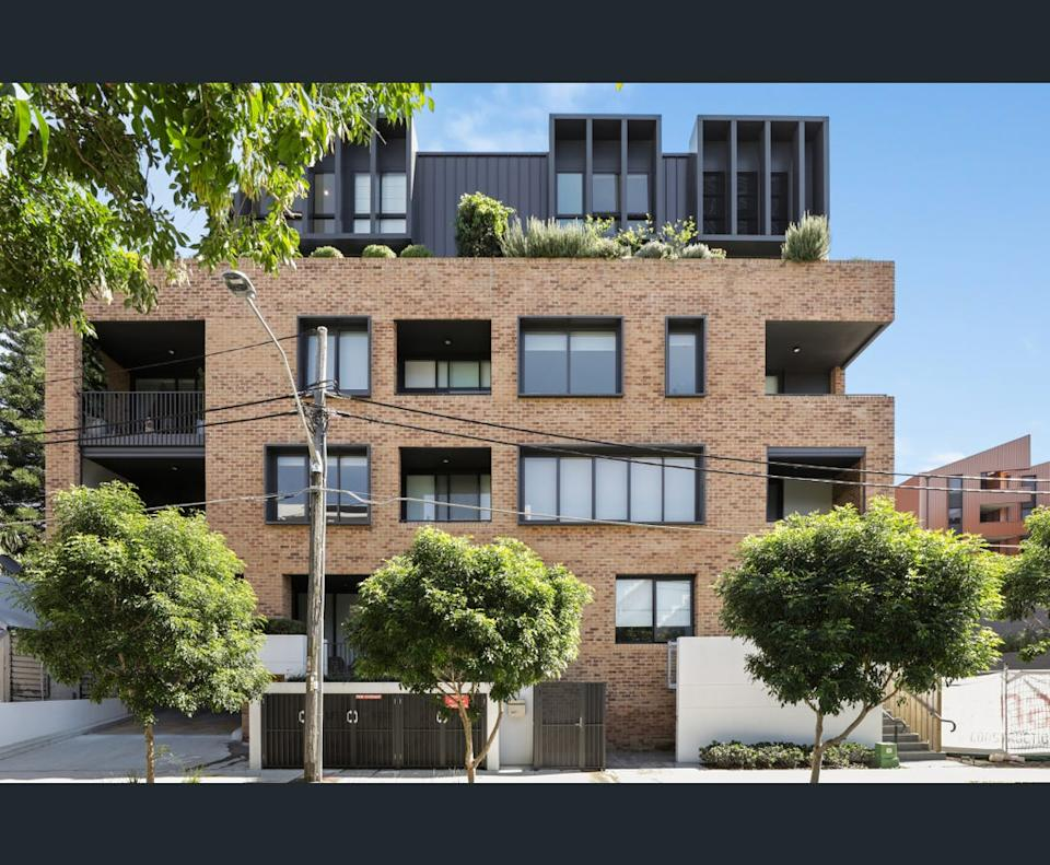 Image of the building at A202/19-21 Eve Street, Erskineville, NSW 2043.