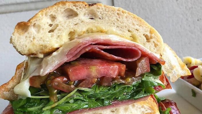 Get a hearty sandwich with a view in Greenville, SC.