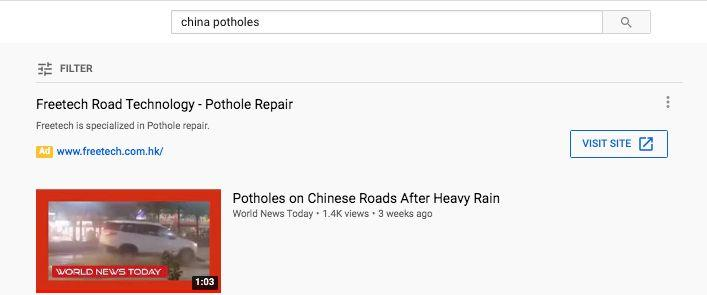 Several YouTube videos claimed that the incident happened in China.