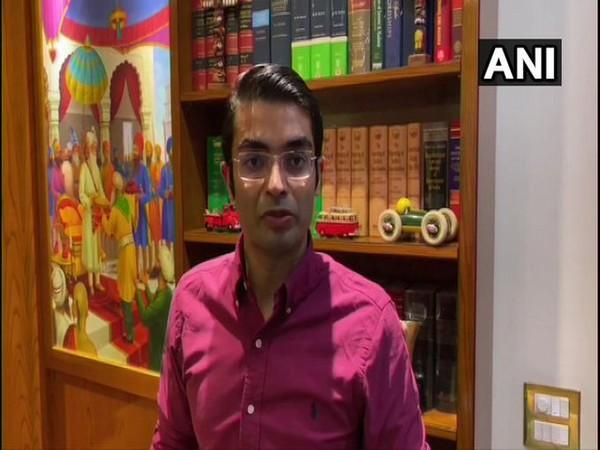 Lawyer Jaiveer Shergill speaking to ANI in New Delhi on Saturday. Photo/ANI