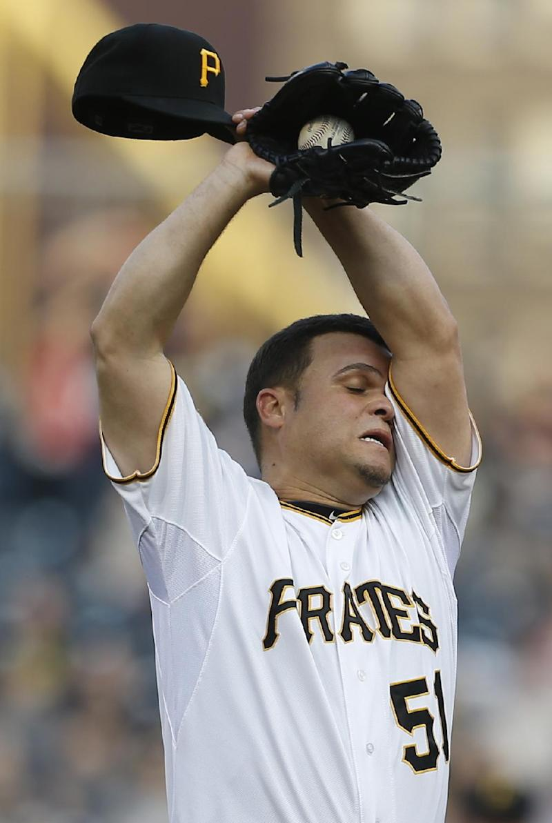 Pirates designate Wandy Rodriguez for assignment