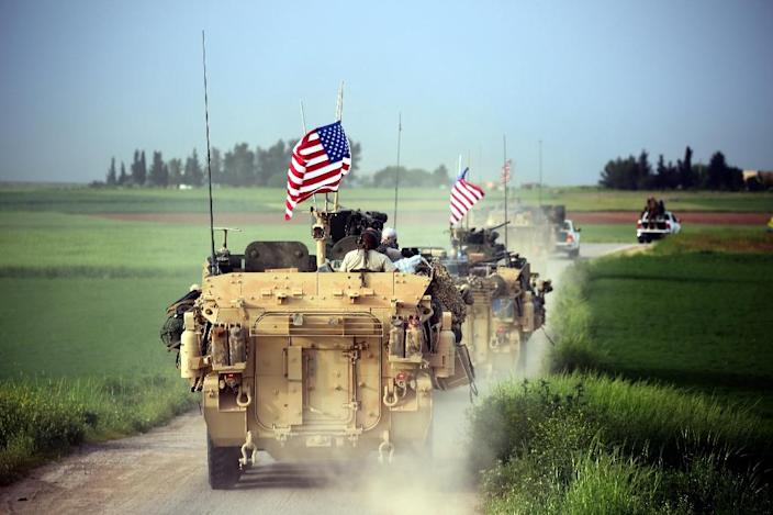 The Pentagon now sees an open-ended troop commitment in Syria (AFP Photo/DELIL SOULEIMAN)