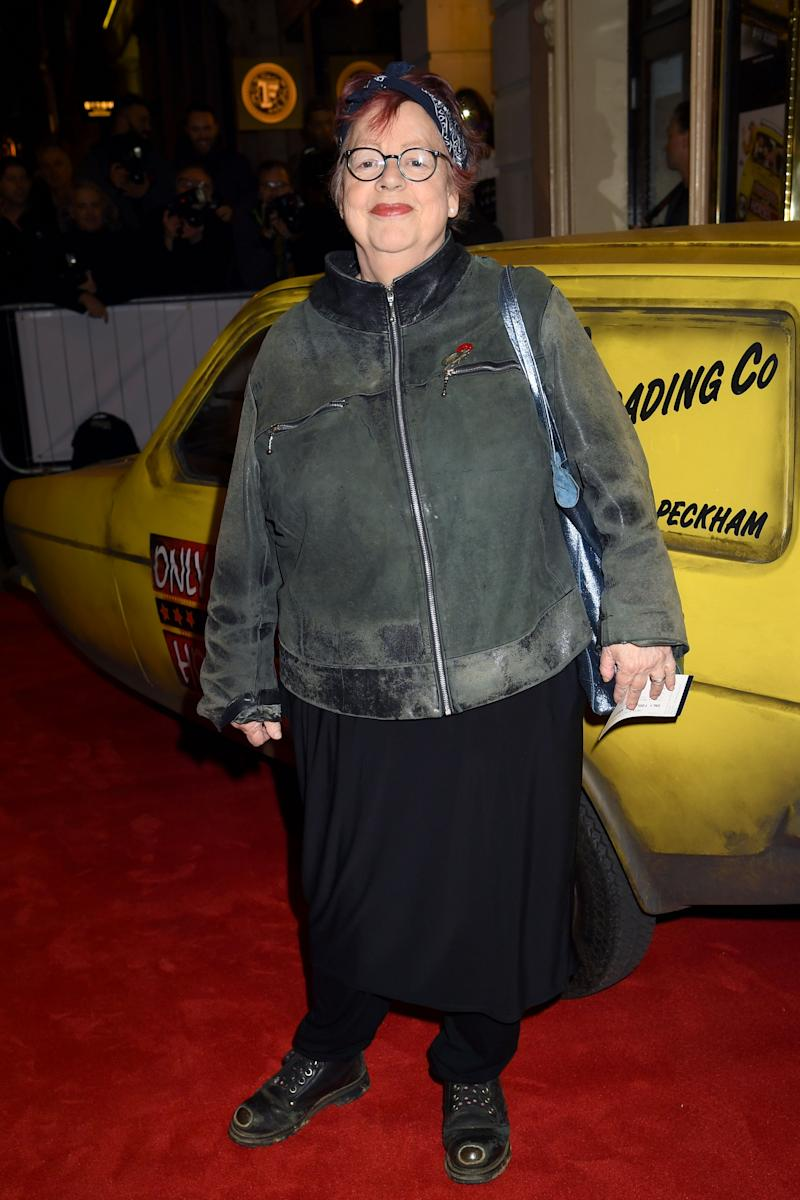 LONDON, ENGLAND - FEBRUARY 19: Jo Brand attends the opening night of Only Fools and Horses The Musical at Theatre Royal Haymarket on February 19, 2019 in London, England. (Photo by Dave J Hogan/Dave J Hogan/Getty Images for Neil Reading PR )
