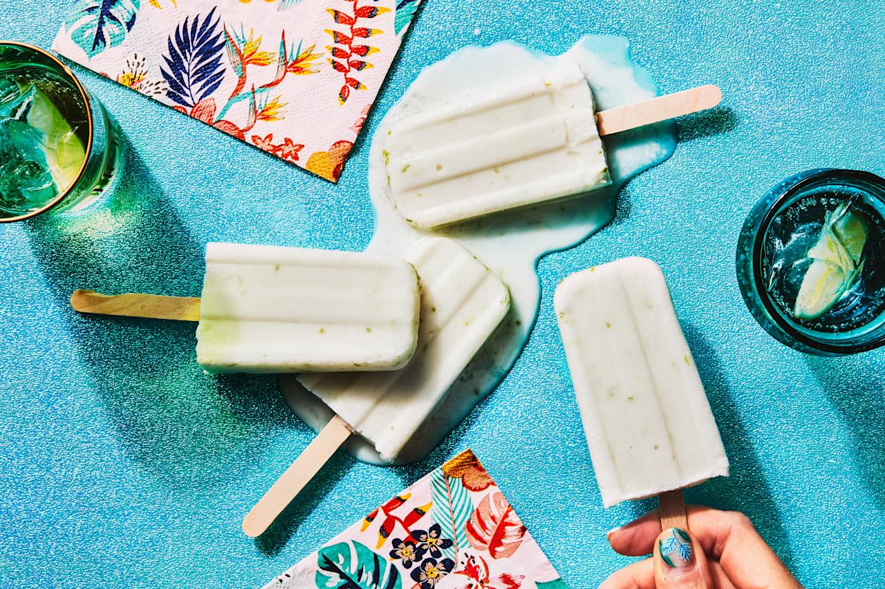 """<em><strong>In Epi's 3-Ingredient Recipes series, we show you how to make great food with just three ingredients (plus staples like oil, salt, and pepper).</strong></em><br> These refreshing pops blend two kinds of coconut for an extra rich, creamy flavor, and lime zest lends a lovely floral note. <a href=""""https://www.epicurious.com/recipes/food/views/3-ingredient-creamy-coconut-lime-ice-pops?mbid=synd_yahoo_rss"""">See recipe.</a>"""