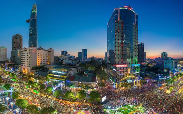 Head to Vietnam for the country's New Year's celebrations - Getty