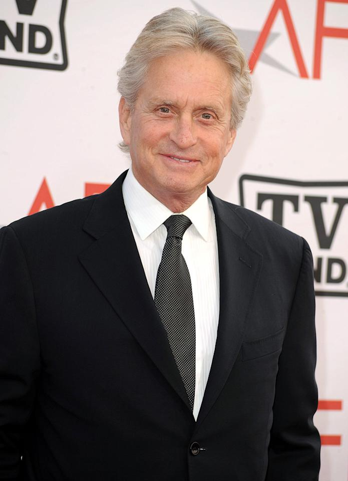 """<a href=""""http://movies.yahoo.com/movie/contributor/1800012782"""">Michael Douglas</a> attends the 38th Annual Lifetime Achievement Award Honoring Mike Nichols at Sony Pictures Studios on June 10, 2010 in Culver City, California."""