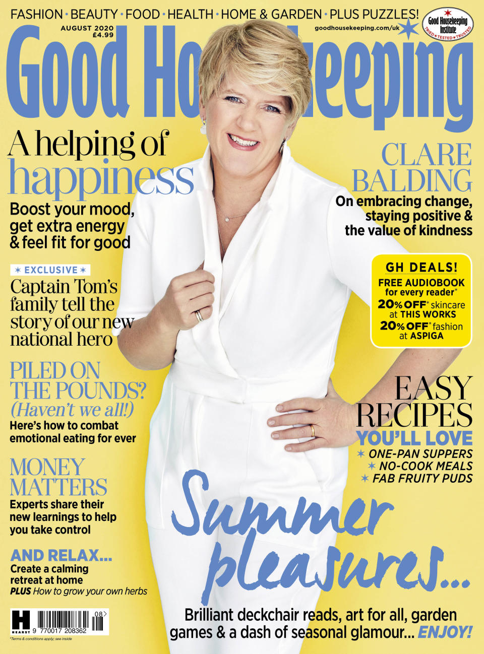 The full interview is in Good Housekeeping (David Venni/Good Housekeeping/PA)