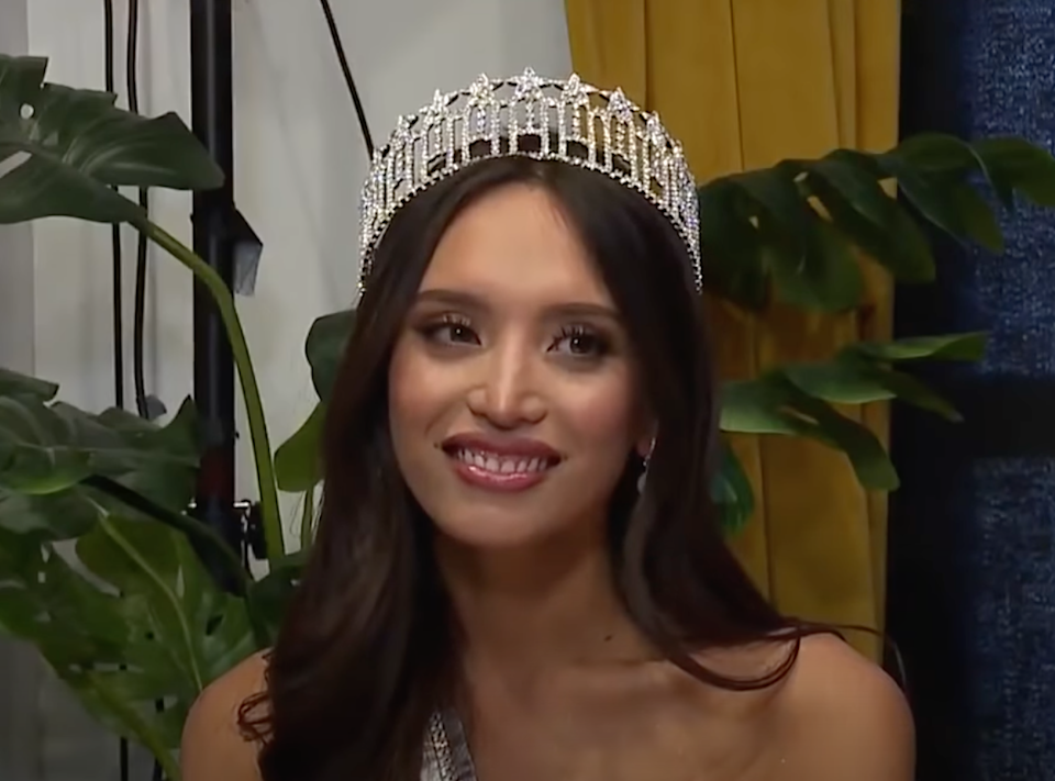 Kataluna Enriquez becomes the first openly transgender woman to win Miss Nevada USA and to compete in Miss USA  (YouTube / KTNV)