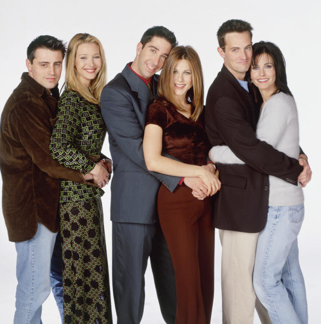 Lisa Kudrow and Jennifer Aniston reminisce about <em>Friends </em>during virtual reunion. (Photo: NBCUniversal via Getty Images)