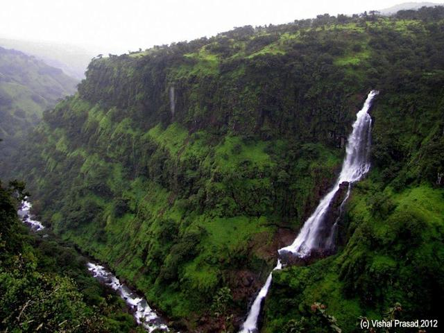 "Mesmerising Thosegarh Waterfall in Satara district, Maharashtra. The waterfall is a popular tourist attraction and is reachable by bus from Pune. <br>Photo by <a href=""https://www.flickr.com/photos/vishal-pd/"" rel=""nofollow noopener"" target=""_blank"" data-ylk=""slk:vishal Pd"" class=""link rapid-noclick-resp"">vishal Pd</a>/Flickr"