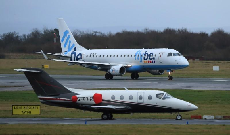 EU ready to discuss with UK state aid for Flybe airline