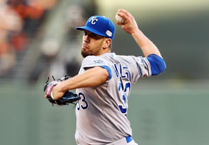 The Padres are adding James Shields to a very deep staff. (AP)