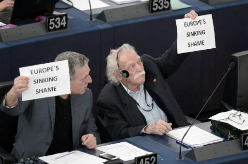 Glezos became the European Parliament's oldest deputy at the age of 91