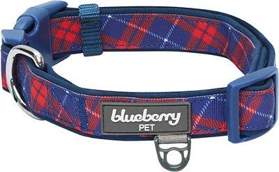 Blueberry Pet Soft & Comfy Padded Polyester Dog Collar