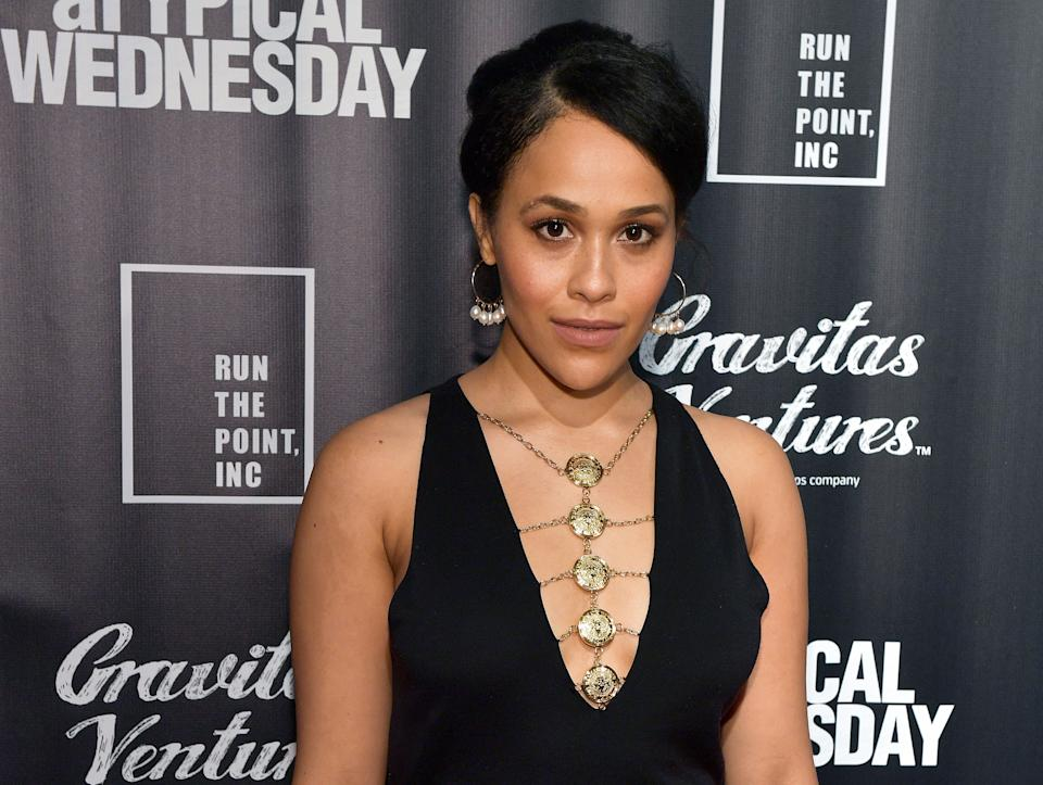 British actor and comedian Tanya Fear, pictured in June 2020, has been reported missing in Los Angeles. (Getty Images)
