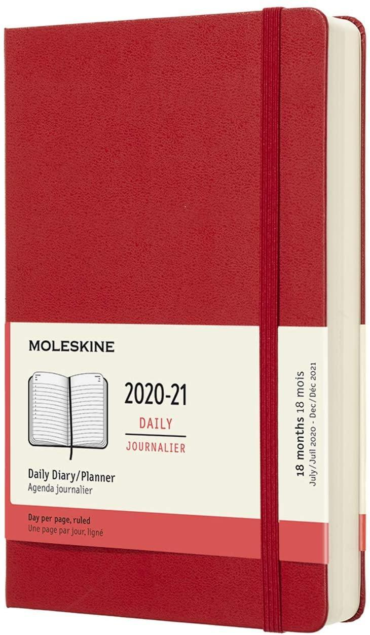 """<h3><a href=""""https://amzn.to/2XrQjPF"""" rel=""""nofollow noopener"""" target=""""_blank"""" data-ylk=""""slk:Moleskine Classic 18-Month 2020 Daily Planner"""" class=""""link rapid-noclick-resp"""">Moleskine Classic 18-Month 2020 Daily Planner</a></h3> <br>When it comes to getting organized, Moleskine is a classic choice. Their daily and weekly planners have long been a favorite for business and travel planning, bullet journaling, even fitness tracking. Each day gets its own page so you can stay on top of even the most complex of projects. <br><br><strong>Moleskine</strong> 18 Month 2020-2021 Daily Planner, $, available at <a href=""""https://amzn.to/2XrQjPF"""" rel=""""nofollow noopener"""" target=""""_blank"""" data-ylk=""""slk:Amazon"""" class=""""link rapid-noclick-resp"""">Amazon</a><br>"""