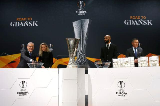 Europa League - Round of 32 draw