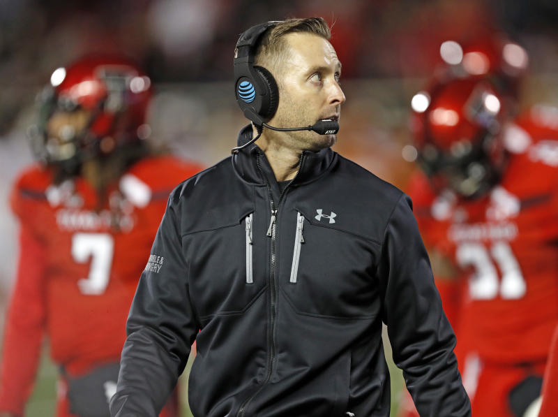USC blocking Kingsbury from interviewing with Cards