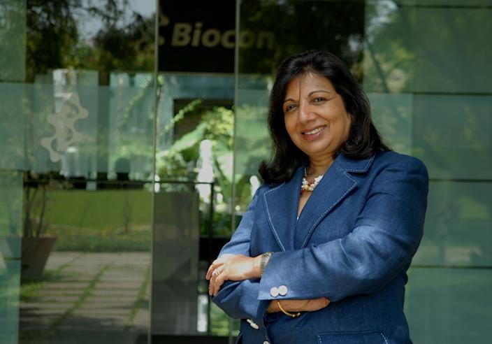 Kiran Mazumdar Shaw. (Photo by Hemant Mishra/Mint)