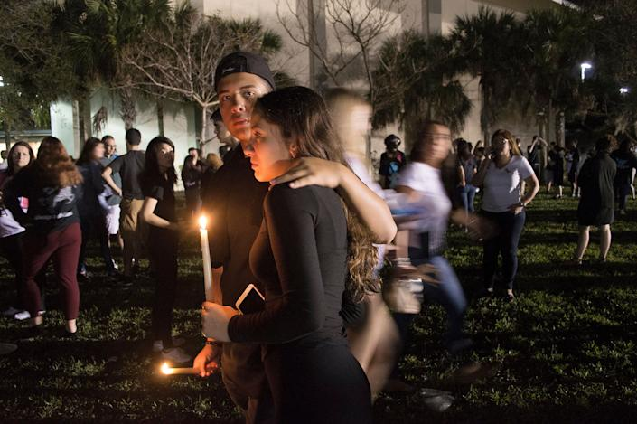 A couple mourns the loss of their high school friends after Wednesday's school shooting.