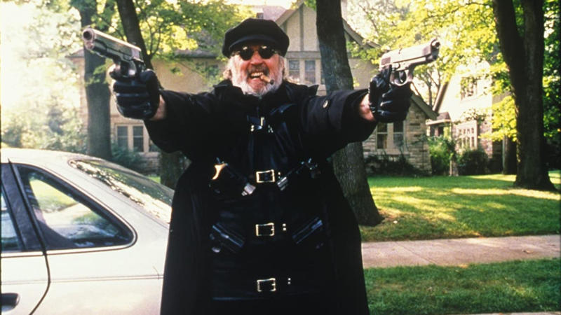 Billy Connolly as Il Duce in 'The Boondock Saints'. (Credit: Franchise Pictures/Indican Pictures)