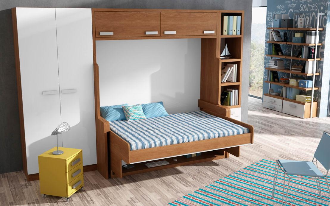 <p>Furniture pieces that will fold, adapt and serve more than one function really are the definition of getting more bang for your buck, which is critical in a small home! If you can combine a bed and a sofa, a foot stool with storage or anything of this nature, you'll enjoy so much more free space. </p>  Credits: homify / Muebles Parchis. Dormitorios Juveniles.