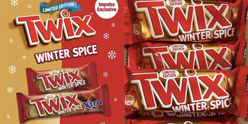 Winter Spice Twixes Are Coming To A Shop Near You
