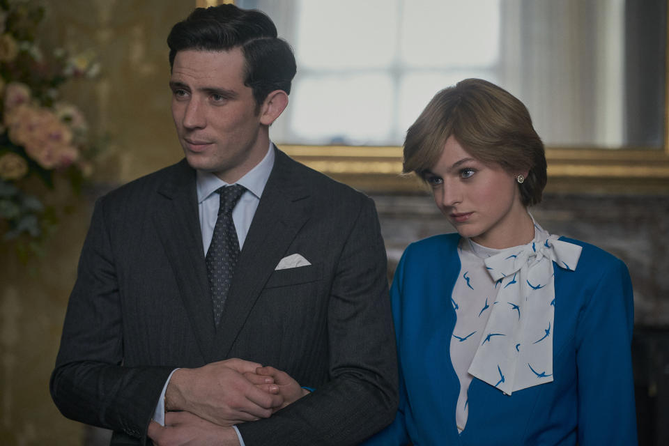 Fans of Royal Drama such as The Crown (pictured) are often attracted to heroism and traditionalism (Image: Netflix)