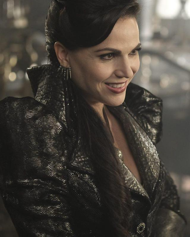 Lana Parrilla as the Evil Queen in <em>Once Upon a Time</em>. (Photo: ABC/Jack Rowand)