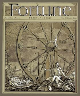 </a> The debut issue in February 1930 featured a cover illustration by art director T. M. Cleland.