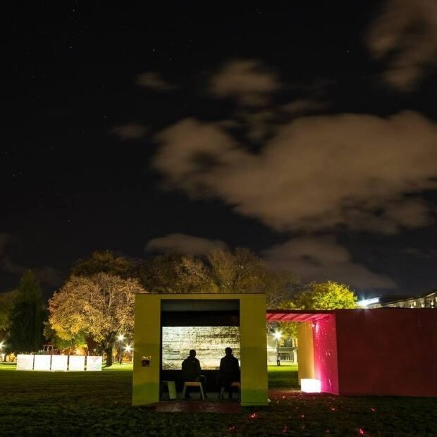 The Kamloops Arts Council presented the installation, Luminocity in 2016. A group called Keep Kamloops fears local arts and recreation non-profits will go dark in a second year of the pandemic.  (Facebook.com/KamloopsArtsGallery - image credit)