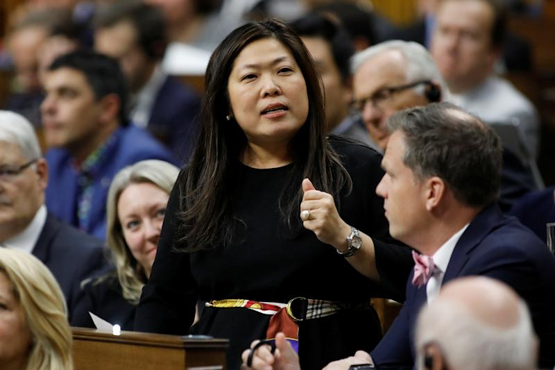 Canada's Minister of Small Business, Export Promotion and International Trade Mary Ng announced Canada will not back down if aluminum tariffs are reimposed by the United States. REUTERS/Blair Gable