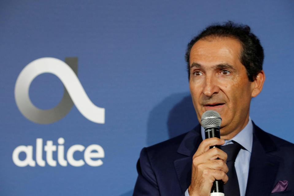 Patrick Drahi started out selling cable packages door to door (REUTERS)