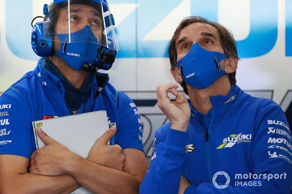 "Davide Brivio, Team Suzuki MotoGP<span class=""copyright"">Gold and Goose / Motorsport Images</span>"