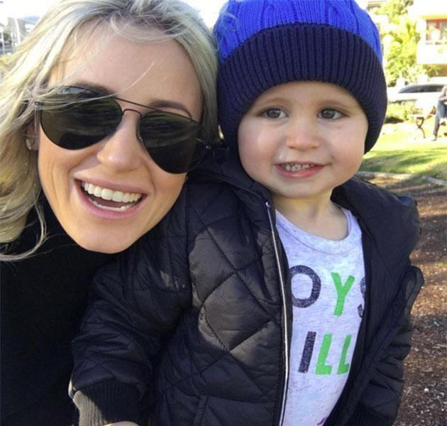 Roxy Jacenko and her son hunter. Source: Instagram